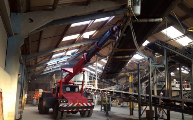 Factory Relocation - Eldon Brickworks