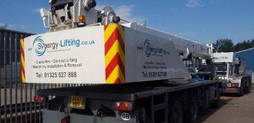 Crane Hire - Contract Lift Services