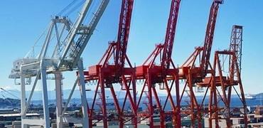 Dock Crane Dismantling