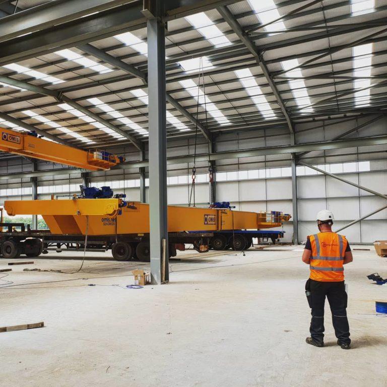 Overhead Crane Installation