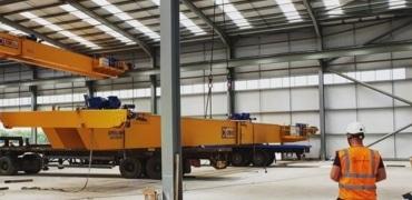 Overhead Crane Dismantling
